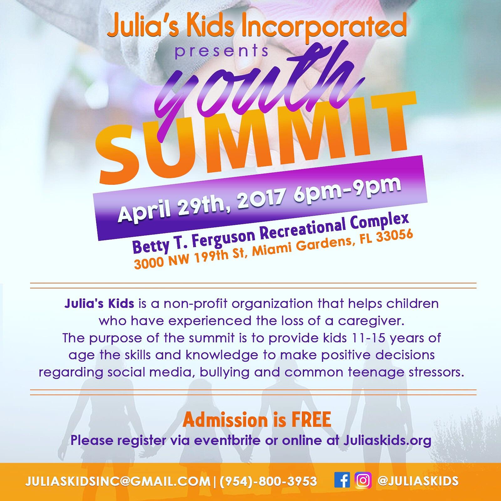 Julia's Kids Youth Summit