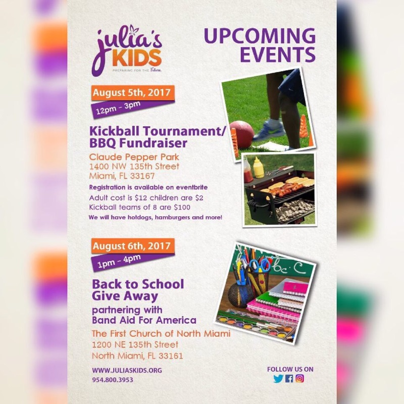 Julia's Kids Kickball Tournament & Barbecue