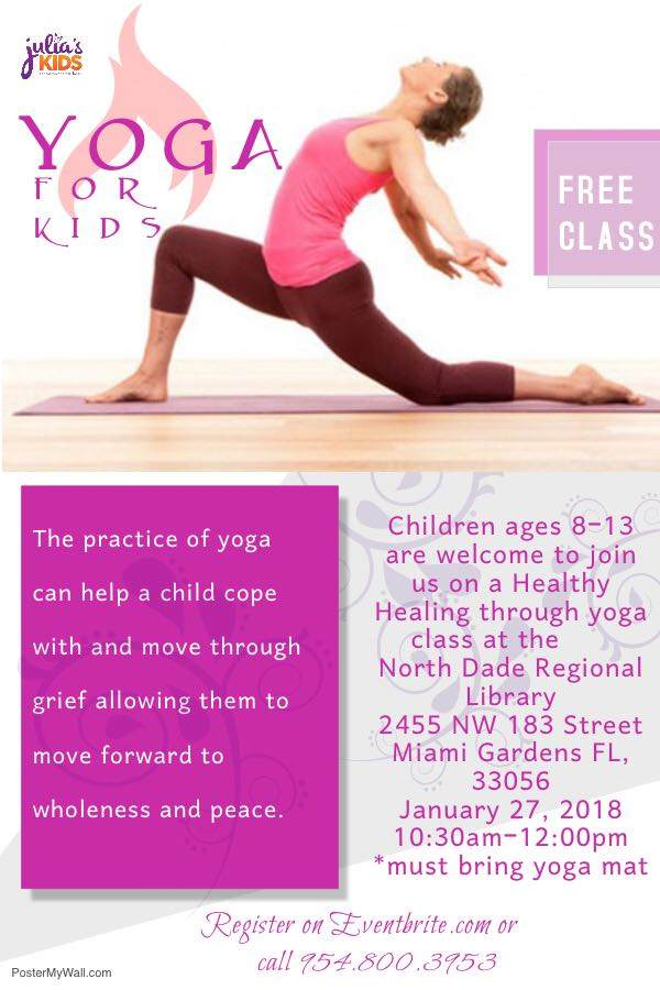 Julia's Kids Yoga For Kids